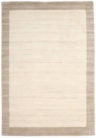 Handloom Frame - Natural/Sand Teppe 200X300 Moderne Beige/Lys Grå (Ull, India)