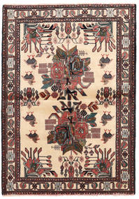 Afshar/Sirjan Teppe 102X144 Ekte Orientalsk Håndknyttet (Ull, Persia/Iran)