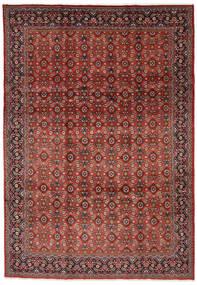 Mahal Teppe 219X313 Ekte Orientalsk Håndknyttet Mørk Rød/Mørk Brun (Ull, Persia/Iran)