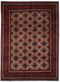 Afghan Khal Mohammadi Teppe 255X345 Ekte Orientalsk Håndknyttet Mørk Rød/Brun Stort (Ull, Afghanistan)