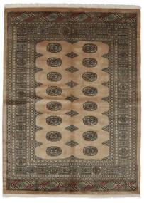 Pakistan Bokhara 3Ply Teppe 142X192 Ekte Orientalsk Håndknyttet Mørk Brun/Svart (Ull, Pakistan)