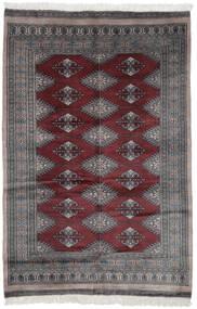Pakistan Bokhara 3Ply Teppe 119X180 Ekte Orientalsk Håndknyttet Svart/Mørk Brun (Ull, Pakistan)